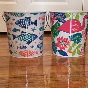 Other - Buckets! Brand New Fish And Flamingo